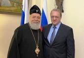 Спецпредставитель Президента РФ по Ближнему Востоку встретился с настоятелем Антиохийского подворья в Москве