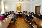 Представители Синодального отдела по благотворительности и Департамента здравоохранения г. Москвы обсудили вопросы больничного служения