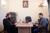 Состоялась встреча ответственного секретаря Синодального комитета по взаимодействию с казачеством с помощником руководителя Росмолодежи