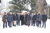 Студенты Первого казачьего университета вместе с духовником посетили Троице-Сергиеву лавру