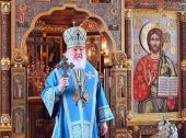 В Неделю о мытаре и фарисее Святейший Патриарх Кирилл совершил Литургию в Александро-Невском скиту