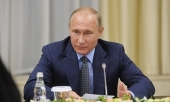 Поздравление Президента России В.В. Путина Святейшему Патриарху Кириллу с Днем защитника Отечества