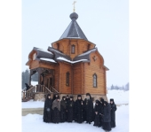 В Князь-Владимирской мужской пустыни Ливенской епархии освящен храм в честь преподобного Алексия, человека Божия