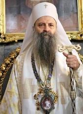 Порфирий, Святейший Патриарх Сербский, Митрополит Белградо-Карловацкий (Перич Првослав)