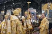 Настоятель Патриаршего подворья в Софии принял участие в торжествах по случаю хиротонии нового епископа Болгарской Церкви
