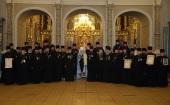 В Новодевичьем монастыре г. Москвы состоялось награждение духовенства Московской областной епархии