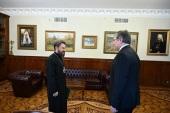 Председатель Отдела внешних церковных связей встретился с новоназначенным послом России в Венгрии