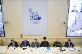 Председатель Синодального комитета по взаимодействию с казачеством возглавил работу конференции в Общественной палате РФ