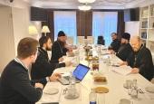 В РПУ обсудили вопросы организации курсов «Пастырское служение в высших учебных заведениях г. Москвы и Московской области»