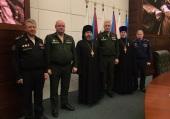 Председатель Синодального отдела по взаимодействию с Вооруженными силами принял участие в мероприятии Минобороны, посвященном работе с верующими военнослужащими