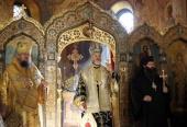 На Патриаршем подворье в Софии молитвенно отметили пятилетие канонизации святителя Серафима Богучарского