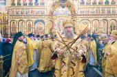 В Неделю о блудном сыне глава Казахстанского митрополичьего округа совершил Литургию в Вознесенском кафедральном соборе Алма-Аты