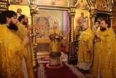 В Неделю о блудном сыне Патриарший экзарх всея Беларуси совершил Литургию в Гродненском Рождество-Богородичном женском монастыре