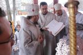 При душепопечительском центре «Покров» Ливенской епархии освящен домовой храм