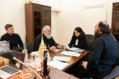 В Финансово-хозяйственном управлении обсудили вопросы строительства Свято-Троицкого кафедрального собора Бузулукской епархии