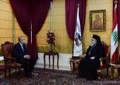 Патриарх Антиохийский Иоанн встретился с послом России в Ливане