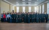 Ректор Московских духовных школ выступил с лекцией в Казанской семинарии
