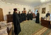 Управляющий делами Украинской Православной Церкви встретился с настоятелями храмов Ровенской области, захваченных раскольниками