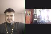 Состоялась видеовстреча членов Рабочей группы по координации двусторонних отношений между Русской Православной Церковью и Маланкарской Церковью