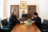 В Финансово-хозяйственном управлении обсудили вопросы реставрации Ставропольской духовной семинарии