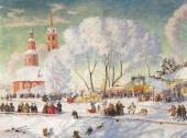 Традиция Масленицы или Сырной седмицы в Византии