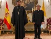Архиепископ Мадридский Нестор встретился с Апостольским нунцием в Королевстве Испания
