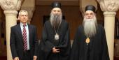 Сербский Патриарх встретился с послом России в Сербии