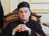 Поздравление Святейшего Патриарха Кирилла маронитскому Патриарху Бeшару Бутросу ар-Раи с десятой годовщиной интронизации