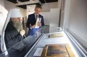 В Санкт-Петербурге открылась выставка «Безмолвная проповедь», посвященная 800-летию благоверного князя Александра Невского