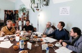 В Санкт-Петербургской духовной академии прошел круглый стол «Точки соприкосновения церковного права, истории Церкви и религиоведения»