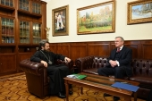 Председатель ОВЦС встретился с послом Ирландии в России