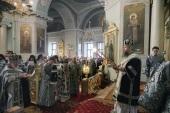 Митрополит Воскресенский Дионисий возглавил в Даниловом ставропигиальном монастыре празднование дня памяти основателя обители