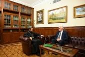 Состоялась встреча митрополита Волоколамского Илариона с новоназначенным послом России в Бразилии