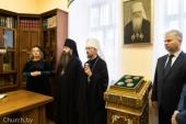 В день рождения митрополита Филарета (Вахромеева) в Минске открыт мемориальный кабинет приснопамятного архипастыря