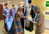 Патриарший экзарх всея Беларуси посетил Республиканский научно-практический центр травматологии и ортопедии в Минске