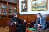 Председатель ОВЦС встретился с послом Черногории в Российской Федерации