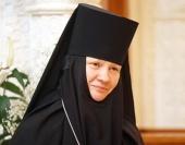 Патриаршее поздравление настоятельнице Зачатьевского ставропигиального монастыря игумении Иулиании (Каледе) с днем рождения