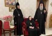 В Горненском монастыре в Иерусалиме молитвенно отметили 30-летие назначения игумении Георгии (Щукиной) на должность настоятельницы обители