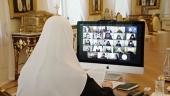 Святейший Патриарх Кирилл возглавил заседание Высшего Церковного Совета в дистанционном формате