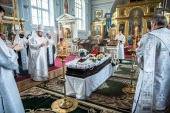 Состоялось отпевание старейшего преподавателя Санкт-Петербургских духовных школ М.И. Ващенко