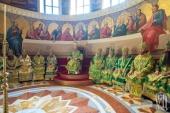 Блаженнейший митрополит Онуфрий возглавил Божественную литургию в день Собора всех преподобных Киево-Печерских