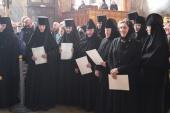 В Ивановской митрополии состоялся выпуск первой группы слушательниц курсов базовой подготовки в области богословия для монашествующих