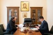 Состоялась встреча председателя Финансово-хозяйственного управления с заместителем председателя Комитета Совета Федерации по науке, образованию и культуре