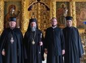 Архиепископ Охридский Иоанн посетил Троице-Сергиеву лавру