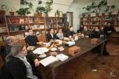В Санкт-Петербургской духовной академии прошел круглый стол, посвященный грядущему 100-летию Петроградского процесса и гибели новомученика Юрия Новицкого