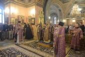 Архиепископ Охридский Иоанн совершил Литургию в Покровском ставропигиальном монастыре в Москве