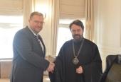 Председатель ОВЦС встретился с послом Словакии в России