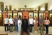 Ρώσοι αρχαιολόγοι και συντηρητές επισκέφθηκαν την Αντιπροσωπεία της Ρωσικής Εκκλησίας στη Δαμασκό