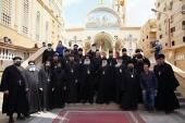 Αντιπροσωπεία ηγουμένων και οικιστών των Ιερών Μονών της Ουκρανικής Ορθοδόξου Εκκλησίας πραγματοποιήσαν προσκύνημα σε πανχριστιανικά ιερά σεβάσματα της Αιγύπτου