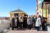 Освящена часовня на территории регионального отделения «Российского Красного Креста» в Петропавловске-Камчатском